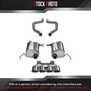 Corsa Xtreme 304 Ss Axle-back Exhaust System For 15-17 Corvette 14766