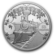 🇨🇦 Canada Silver 50 Dollars Coin Confederation - An Emerging Country 2021