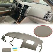 For 2004 05 06 07 08 2009 Lexus Rx350 Rx330 Molded Dash Cover Overlay Cap Gray