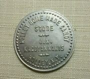 Holley N.y. New York Holley Home Made Candy Store 1917 Ice Cream Token