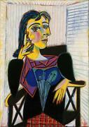 Dora Marr Pablo Picasso Abstract Art, Hand Painted Oil Painting Canvas Wall Deco