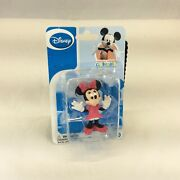 Disney Minnie Mouse Figurine Mickey Mouse Clubhouse 2.5andrdquo Toy Cake Topper New