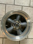Vintage Torque Thrust Style Wheel American Racing 15x6 On 4 3/4 With 3 5/8 Bs