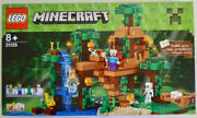 Lego Minecraft The Jungle Treehouse 21125 Retired Set 8+ New In Unopened Box