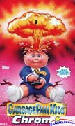 2013 Topps Chrome Garbage Pail Kids Series 1 Factory Sealed 24 Pack Hobby Box