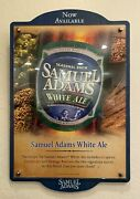 Samuel Adams Now Available 23and039and039 X 15and039and039 Beer Sign Wood Base Interchangeable