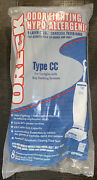 Oreck Type Cc Charcoal Vacuum Cleaner Bags Hypo-allergenic Pack Of 8 New Sealed
