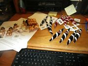 Nfl And Ul Gingerbread Men And Icecicle Glass Xmas Ornaments-nwtyour Choice