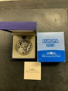 Europa 2010 New Franc 110th Anniversary 10 Eur Proof Silver Coin