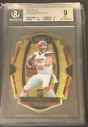 2018 Select Premier Gold Die Cut Baker Mayfield Rc 10/10 Bgs 9 .5 Away From 9.5