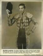 1951 Press Photo Actor Anthony Dexter As Rudolph Valentino In Valentino