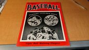 October 1952 Baseball Magazine Jackie Robinson Dodgers Inside Cover Pinup
