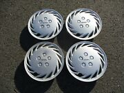 Factory Original 1990 1991 Toyota Celica St 13 Inch Hubcaps Wheel Covers