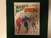 Rockets Blast Special 1 1967-sfca-3rd Printing- Timely Comics