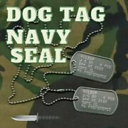 Dogtag Navy Seal. Set Of 2 Identical Or Different Badges. 9.50 Eu. Shipping...