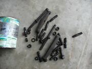 Oliver 88 Diesel Tractor Engine Motor Exhaust Manifold And Injector Stud Bolts