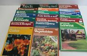 Lot Of 20 Assorted Ortho Books, Home Workshops , Landscaping, Attracting Birds