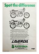 Laverda 1000 Jota/3c Easy Pull Clutch Arm Conversion -slaters Old Stock