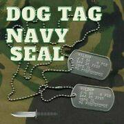 Dogtag Navy Seal. Set Of 2 Identical Or Different Badges 9.50 Eu. Shipping...