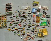 Lot Vintage Fishing Lures Lure Lot Huge Antique Collection