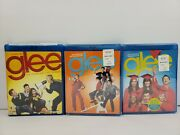 Complete Season Blu Ray 1st, 2nd And 3rd New Sealed Glee Tv Show Season 1 Open