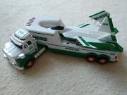 2010 Hess Truck And Jet Fighter Plane - Working Lights And Sound. Mint