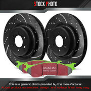 Ebc Brakes Stage 3 Truck And Suv Dimpled And Slotted Front Brake For 13-17 F-250