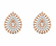 Diamond Earrings, 14 K Solid Gold, 0.15 Carat Natural Perfect For Birthday Gift