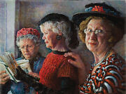 Church Ladies 1000 Piece Jigsaw Puzzle By Sunsout New And Sealed