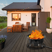 Portable Propane Gas Fire Pit Firebowl Outdoor With Cover And Carry Kit