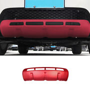Front Bumper Diffuser Spoiler Board Trim Fit For Discovery Sport 2015-2016 Red
