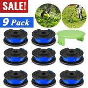 9pack String Trimmer Replacement Spool Line Weed Eater Edger Ryobi 18/24/40v Set