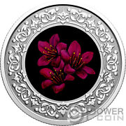 Purple Saxifrage Floral Emblems Nuvanut Silver Coin 3 Canada 2021