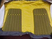 1st Gen Camaro 1967 1968 1969 Ricks Interior Seat Cover Set Yellow And Houndstooth