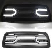 For 10-18 Dodge Ram 2500 3500 Big Horn Black Grille And Replacement Shell And Lights