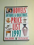 Vintage Kovels Antiques And Collectibles Price List Guide Book 1997 874 Pages New
