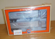 Lionel Trains 83585 Union Pacific Up 40' Truck Trailer 2-pack Intermodal Freight