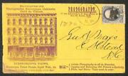 Usa 182 Stamp Keene New Hampshire Photography Stereoscopes Advertising Cover