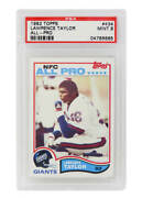 Lawrence Taylor New York Giants 1982 Topps 434 Rc Rookie Card -psa 9 Mint B