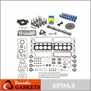 Complete Non - Afm Kit Gm Chevy 5.3l Camshaft 3-bolts Gaskets Lifter Oil Pump
