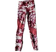 Nwt Womens Under Armour Xs Pink Heat Gear Compression Workout Pants Mesh