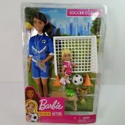 Barbie You Can Be Anything - Soccer Coach Playset - Brunette Soccer Coach Doll