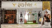 Harry Potter Ollivanderand039s Wand Shop And Quidditch Pitch Mini Playset - Brand New