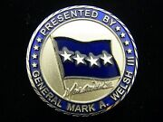 Commander Us Air Forces In Europe Usafe General Mark A. Welsh Iii Challenge Coin