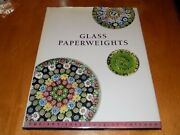 Glass Paperweights Art Institute Chicago Antique Paperweight Collect Hc Vg Book