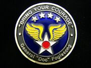 Commander Us Air Forces In Europe Usafe General Fogelsong Challenge Coin