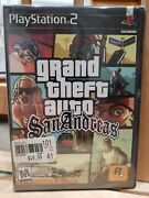 Grand Theft Auto San Andreas Ps2 Hot Coffee 1st Version Factory Sealed New Rare