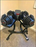 Pair Of Bowflex Selecttech 1090 Adjustable Dumbbells - Local Pickup Only
