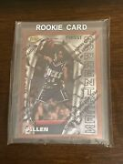 1996 Topps Finest Apprentices Ray Allen Holochrome
