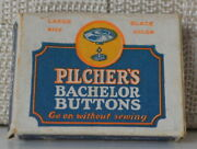 Pilcherand039s Bachelor Buttons Large Size Black Color Made In Usa In Box